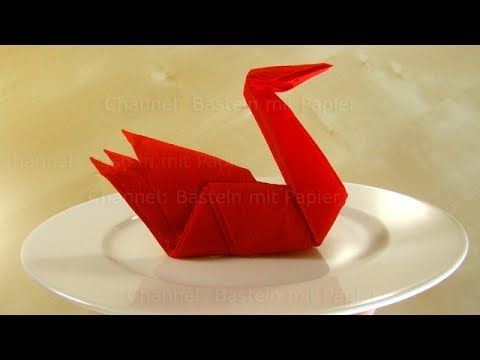 die besten 25 origami schwan ideen auf pinterest origami v gel einfaches origami tutorial. Black Bedroom Furniture Sets. Home Design Ideas