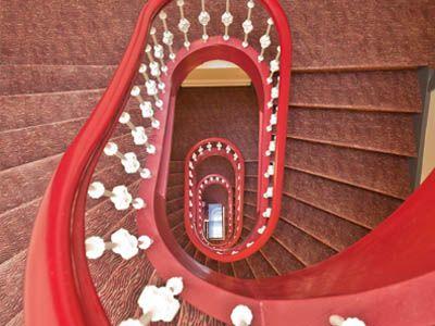 Novum Hotel Hamburg Alster: stairs