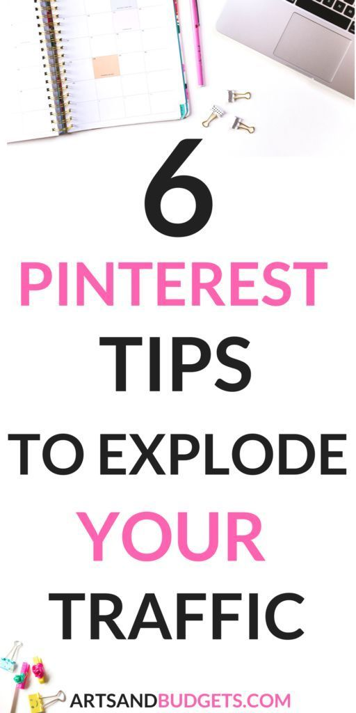TOP TIPS TO GROW PINTEREST TRAFFIC
