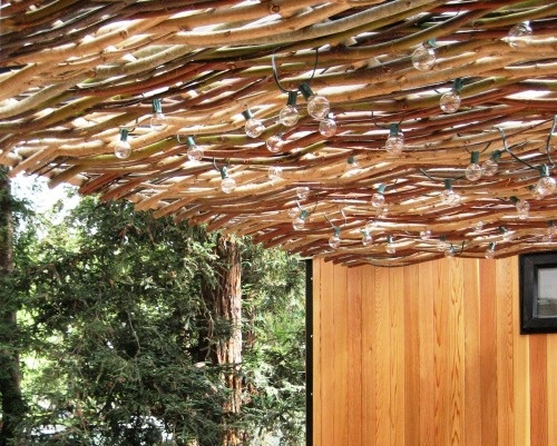 Woven Willow Branches, Willow Branch Outdoor Living