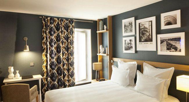 Bonjour tout le monde! Je voulais vous donner un petit aperçu de l'endroit dont j'ai profité ces deux derniers jours : L'Hôtel Villa Saint Germain... Magni