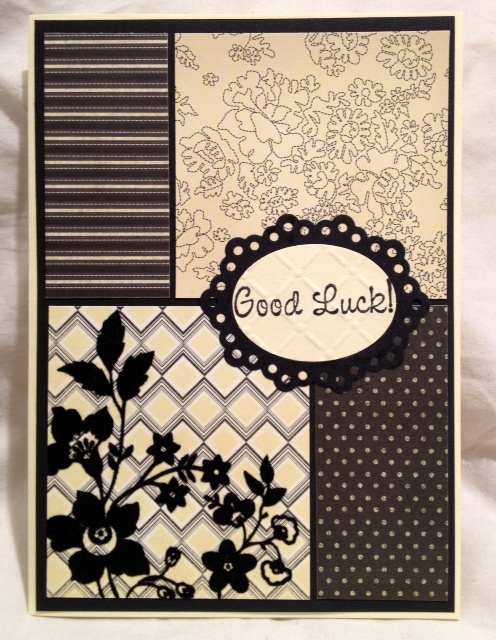 Best 20 good luck cards ideas on pinterest button cards for Farewell scrapbook template