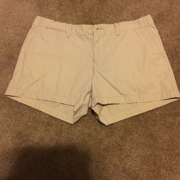 BOGO  POLO SALE! Ralph Lauren Khaki shorts BOGO FREE POLO SALE! Buy any Ralph Lauren Polo item in my closet, and get 1 (of equal or lesser value) FREE!! Please comment for each item and I will create a custom listing for you! My bundling discount is NOT available for this item unless you are bundling with an item that is not the RL brand!* These Ralph Lauren Khaki shorts are in great condition! Only 1 TINY mark on the back below the butt pocket. It's so small I barely noticed it! No holes or…