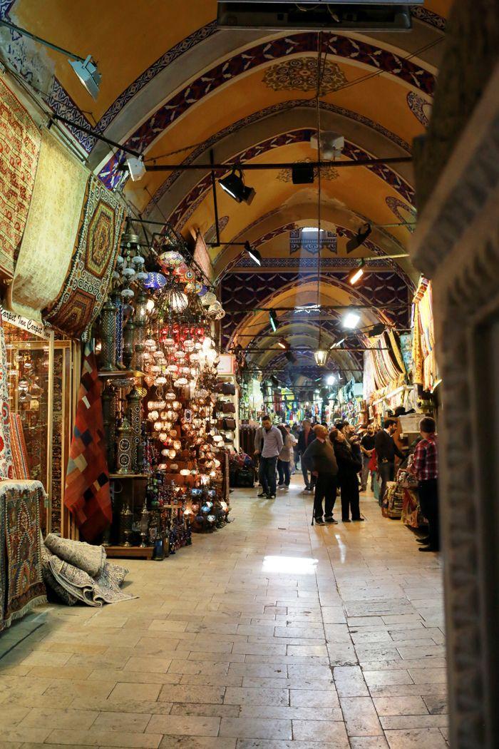 Grand Bazaar in Instabul