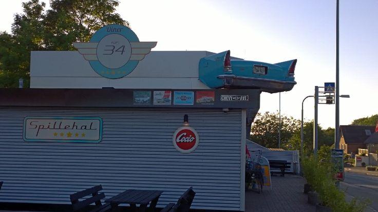 Diner no. 34 i Holstebro, Region Midtjylland