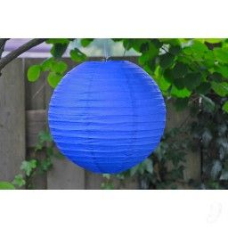 Lampion - Koningsblauw (30 cm & 40 cm)