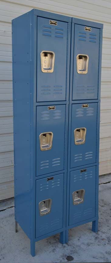 Three tier steel storage lockers for sale in all sizes, styles and  colors at very reasonable prices.  Shop and save today at  buyusedlocers.com...