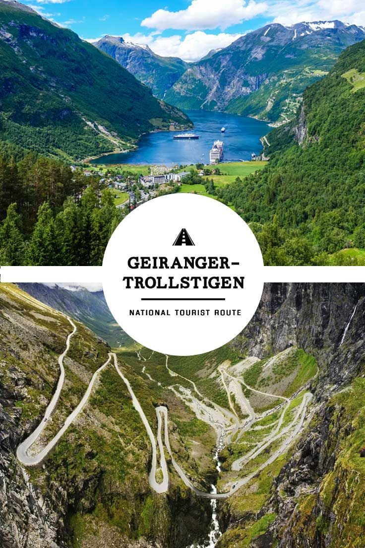 Experience the most beautiful road trip in Norway via the Geiranger-Trollstigen National Tourist Route's serpentine roads, towering fjords, and more! via http://iAmAileen.com/trollstigen-national-tourist-routes-geiranger-road-trip-norway/ #norway #roadtri