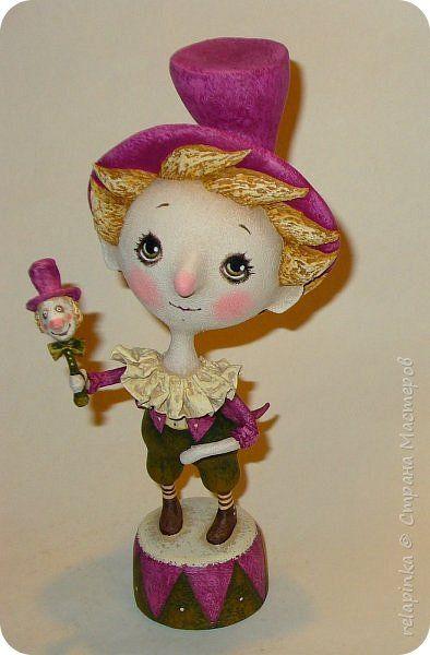 Куклы 1 апреля Папье-маше  Бумага фото 1