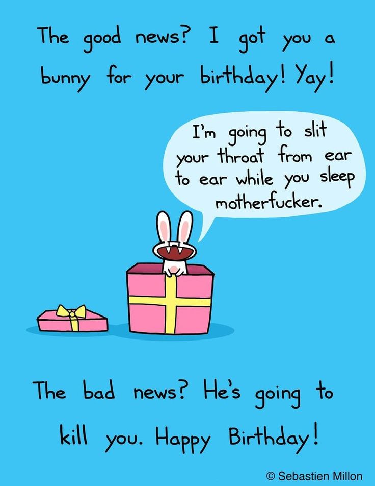 Birthday Quotes For Angry Friend : Happy birthday bunny by sebreg on deviantart