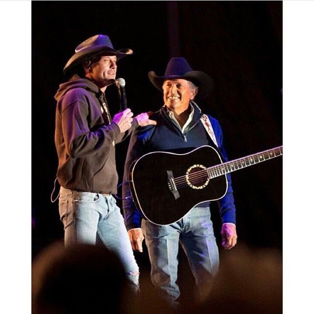 It does not get any better! Tim & the King!