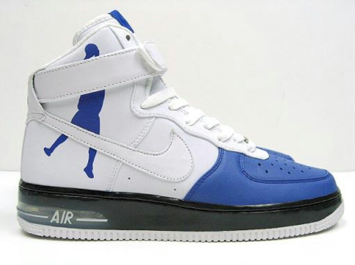 super popular a31d6 7af22 Nike Air Force One High Supreme White Sheed Varsity  Just for Kicks!   Pinterest  Most expensive basketball shoes, Sneakers and Air force one  shoes