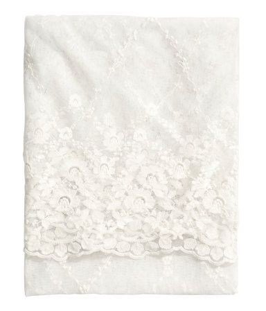 Lace tablecloth | H&M - pinning so I remember to buy this later.