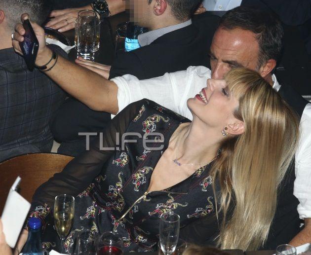 Νίκος Αλιάγας: Oι διακοπές στην Ελλάδα και η βραδινή έξοδος με την όμορφη σύζυγό του! [pics]