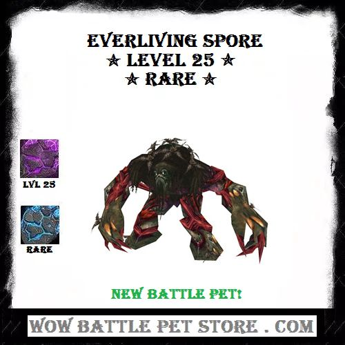 Everliving Spore WoW Pet For Sale | $14.99 | Buy WoW Pets | Buy World of Warcraft Items More WoW Battle Pets For Sale | Come Shop WoW Items at WoWbattlepetstore | New WoW Pets | New World of Warcraft Battle Pet