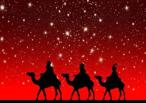three kings and stars