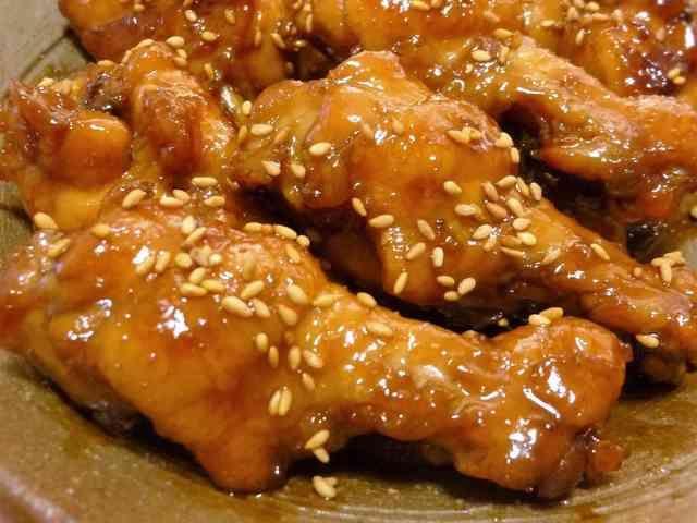♔鶏手羽元の甘辛さっぱり煮♔人気レシピ♪の画像