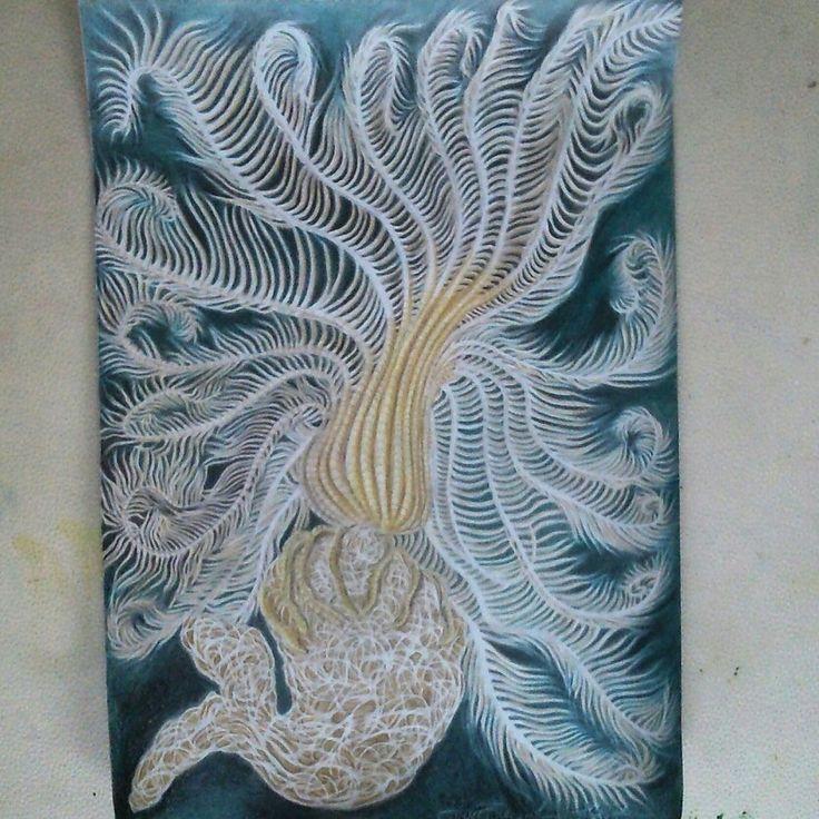 Deep sea drawing