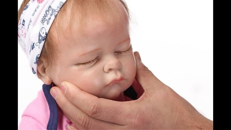 ''SanyDoll Reborn Baby Doll'' Soft Silicone Lovely Lifelike Cute Lovely ...