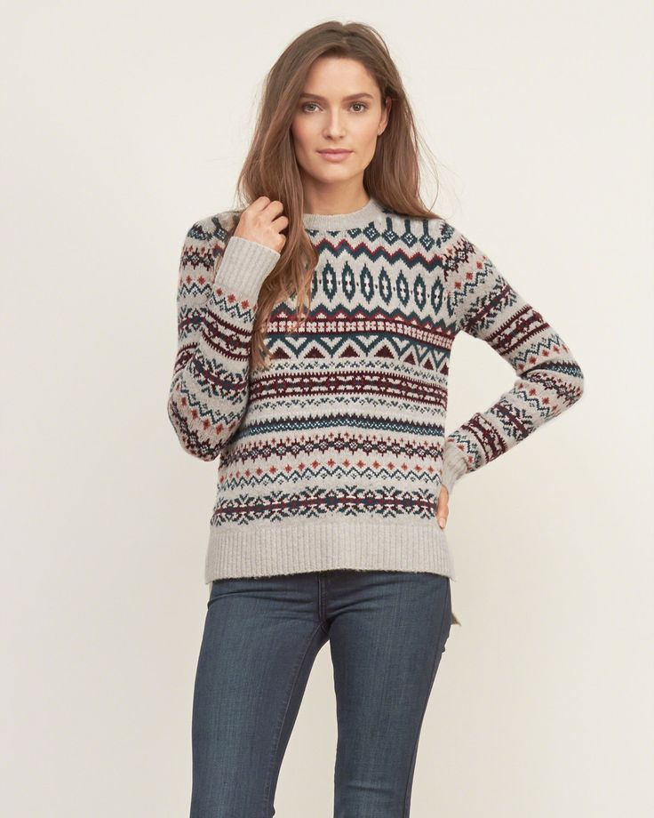 521 best Fair Isle ~ images on Pinterest | Knit patterns, Fair ...