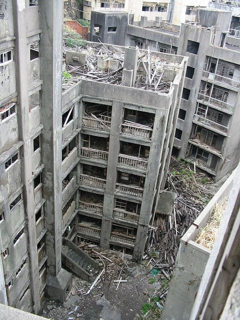 Hashima Island, Japan`s Abandoned City