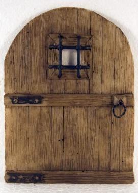 Portón rústico