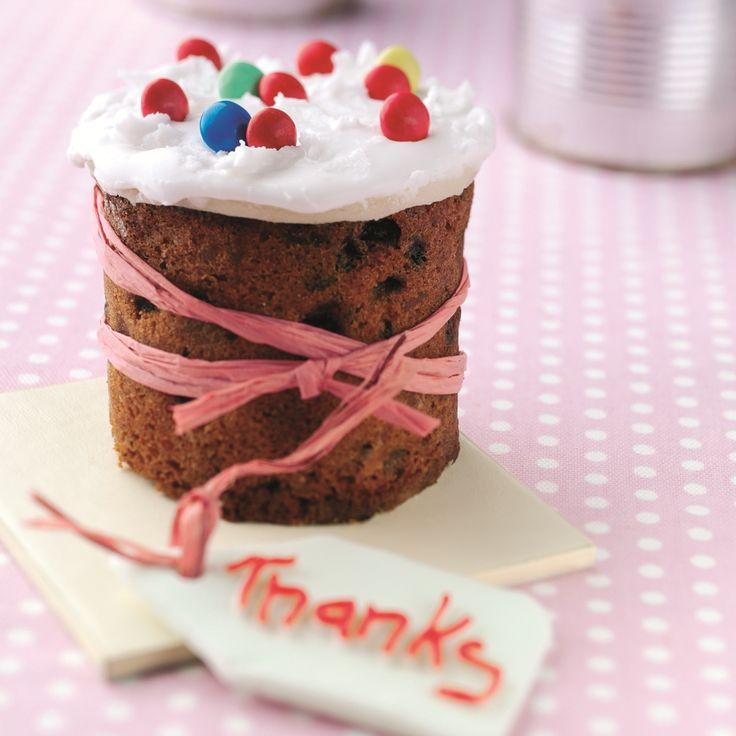 Mini Fruit Cakes Recipe | BakingMad.com