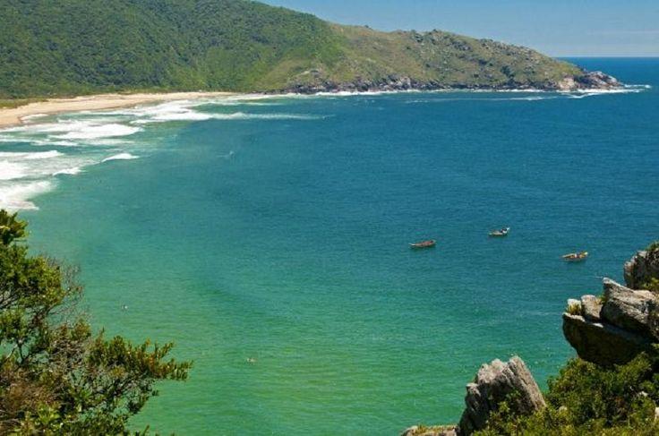 Praia Lagoinha do Leste, em Florianópolis, cidade que foi escolhida como melhor destino de praia - Secom/Divulgação