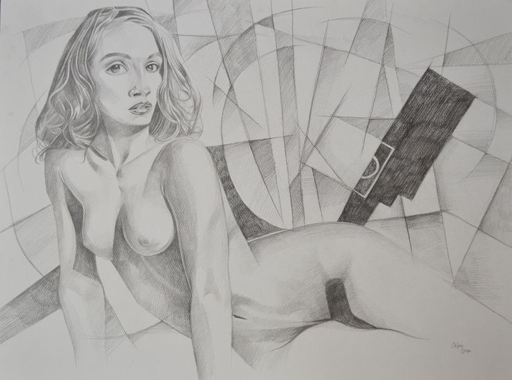 Buy NUDE WOMAN IN CUBIST PLACE, Pencil drawing by Chifan Cătălin Alexandru on Artfinder. Discover thousands of other original paintings, prints, sculptures and photography from independent artists.