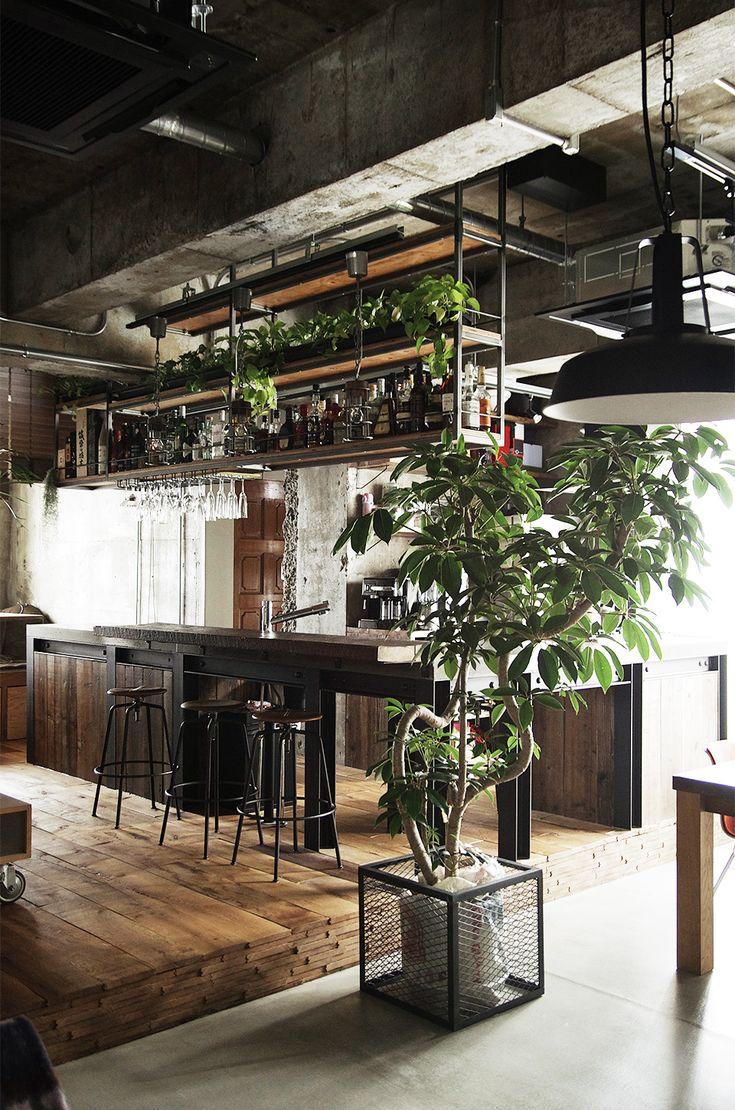 コンクリートキッチン。  by EIGHT DESIGN