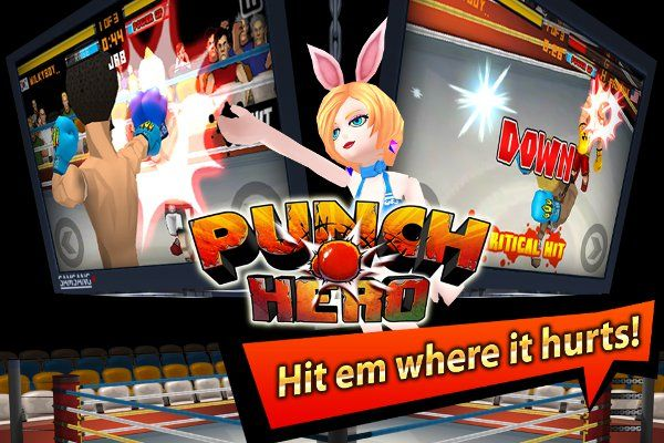 GAMEVIL has brought another game to the iOS App Store and this time its for all thefans of glorious fisticuffs. Developed by Cocosoft and published along with KOCCA, GAMEVIL brings Punch Hero, a mobile boxing game, to iPhone,iPod Touch, and iPad for FREE.
