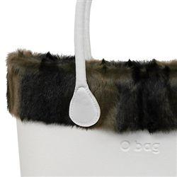 Faux Fur Trim - Petit Gris - an O Bag CLASSIC Accessory