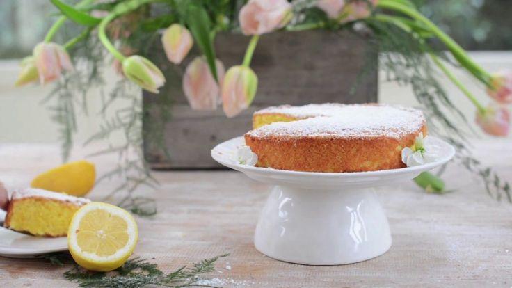 torta semplice al limone