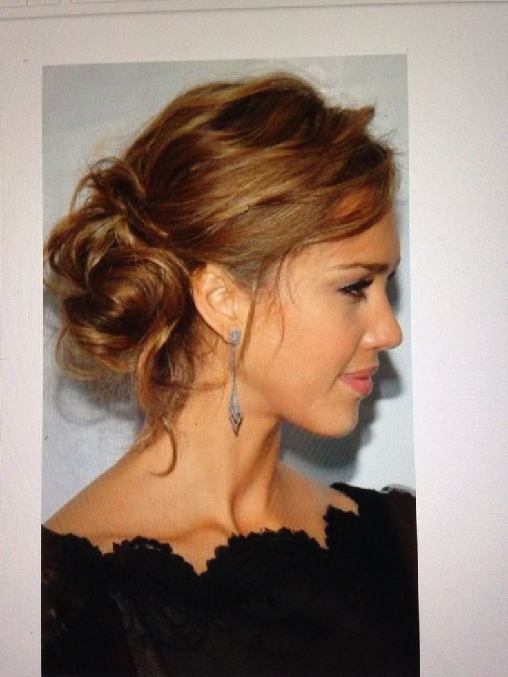 Simple curls and pinned