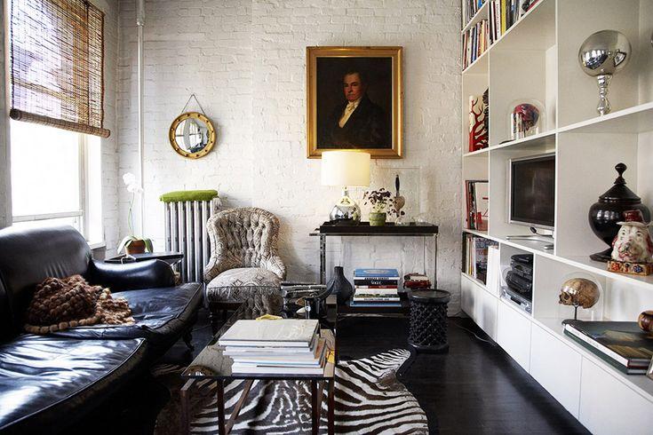 Classic touch: zebra print rugs