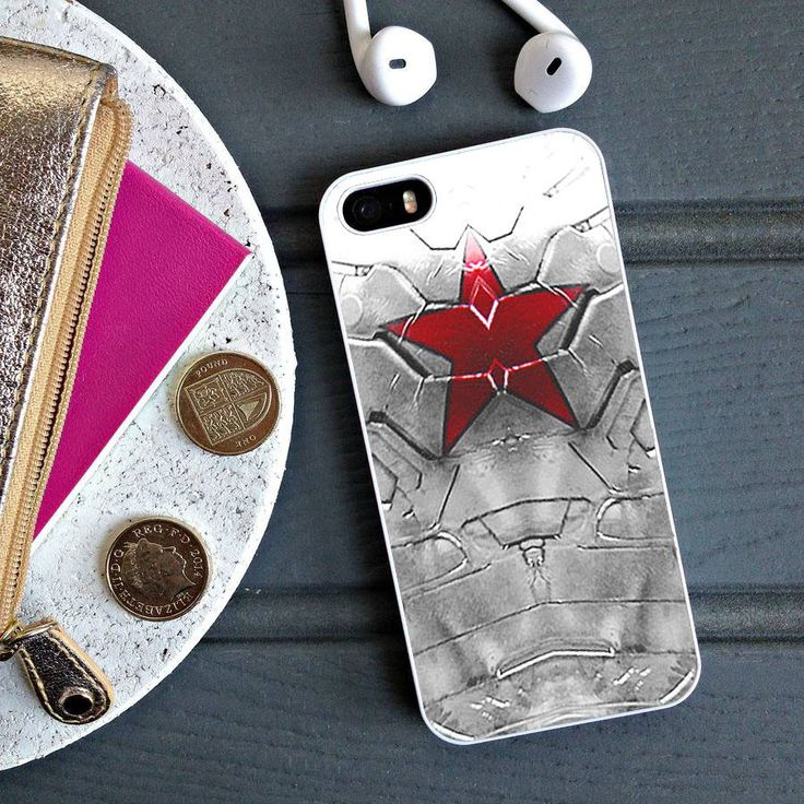 Winter Soldier Star Arm - Captain America iPhone 6 Case, iPhone 5S Case, iPhone 5C Case plus Samsung Galaxy S4 S5 S6 Edge Cases - Shadeyou - Personalized iPhone and Samsung Cases