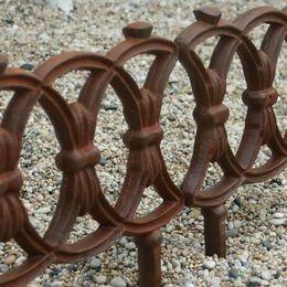 Iron Fence Edging. Garden EdgingGarden FencesMetal ...