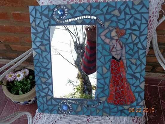 """""""un vestido y un amor"""" https://www.facebook.com/Cien-Mariposas-Mosaiquismo-370740023103459/"""