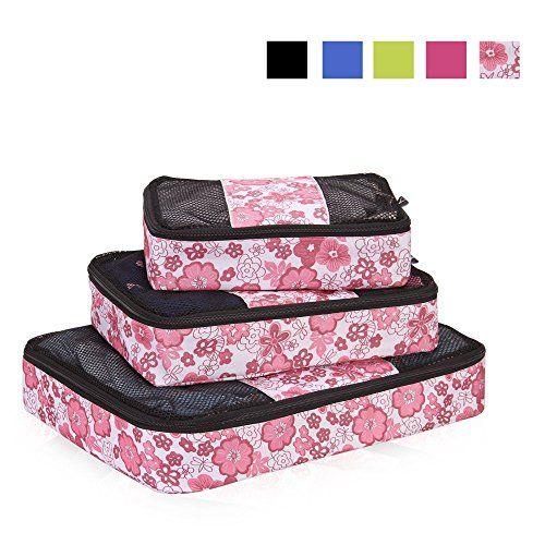 Nuova offerta in #bagaglio : Veevan Cubi di Imballaggio Organizer da Viaggio - Set di 3(Sakura) a soli 17.84 EUR. Affrettati! hai tempo solo fino a 2016-10-06 20:14:00