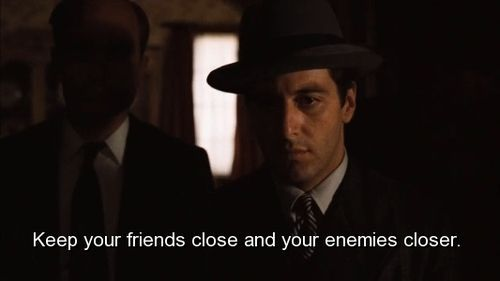 Quotes From the Godfather | movie, the godfather, quotes, sayings, friends, ... | Pin me a Quote