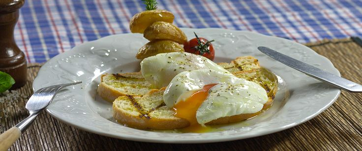Poched eggs - Extra Virgin Olive Oils www.royaldeli.gr