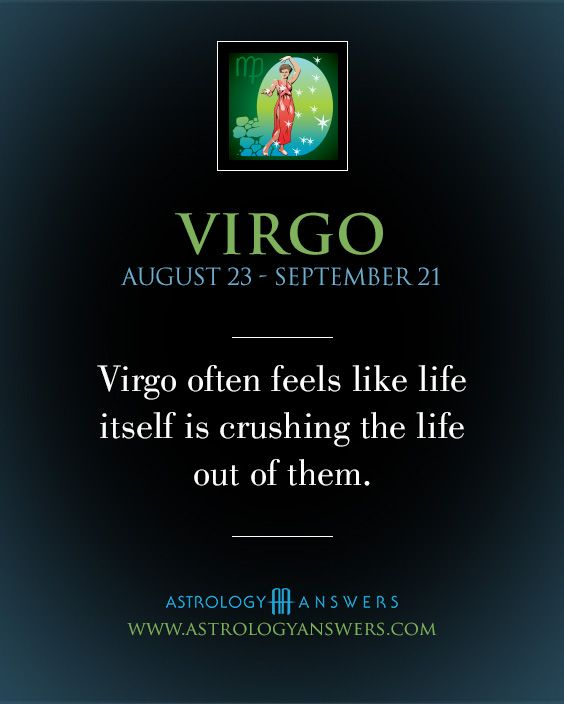 My poor Virgo. I know he feels like this more often than not and my heart aches for him. I try to shoulder as much as I can for him but he just takes more on. He has to feel crushed to feel normal. ♍️
