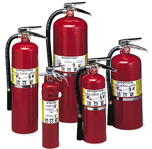 Tip of the Day: Fire extinguishers come in types A, B, or C, depending on the fires they're meant to fight. Class A is burning ordinary materials like wood and paper; class B is for flames fed by grease or oil, and class C is for electrical fires. Your best bet is probably a multipurpose A-B-C extinguisher. Look for a rechargeable one with a pressure gauge that's easy to read, and hang it near a doorway or other escape route.