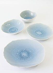 Plume Vert atole - Jars Céramistes : ceramics