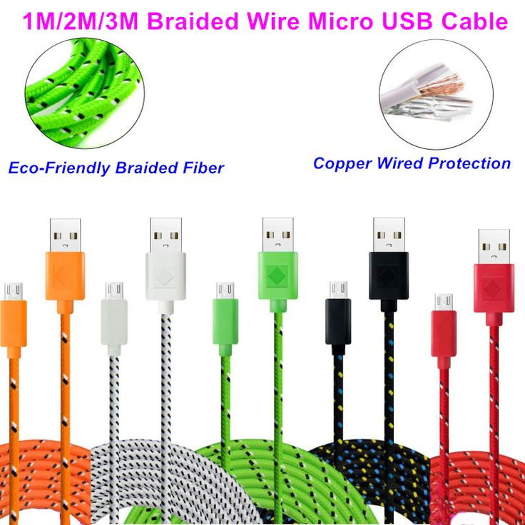 83 best micro usb cable images on pinterest electrical cable cheap wire buy quality cord cutter directly from china wired mobile phone headset suppliers fabric nylon braided micro usb cable charger data sync usb cheapraybanclubmaster Choice Image