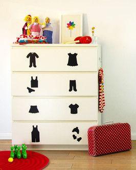 Limmaland Klamottenreich für #Ordnung im #Kinderzimmer. Schöne #Deko nicht nur für #Ikea #Malm Kommoden. www.limmaland.com