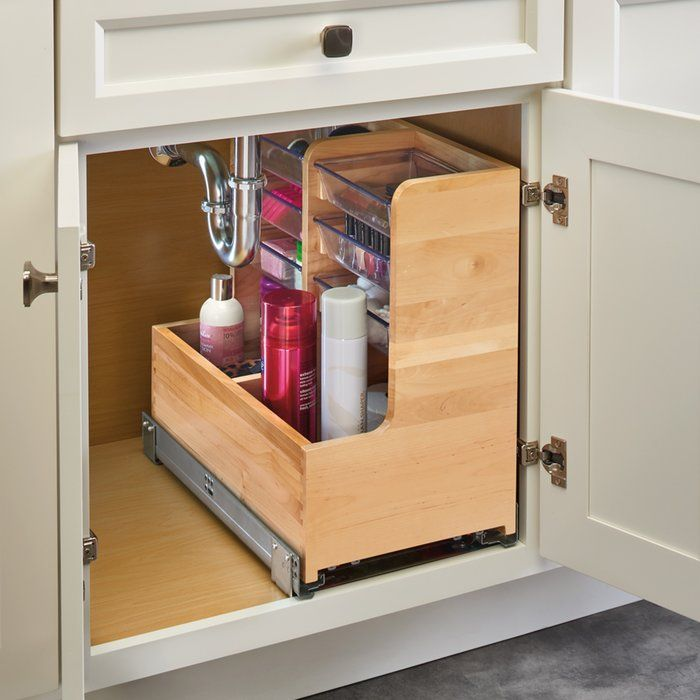 Vanity Base Pull Out Drawer With Images Diy Kitchen Cupboards