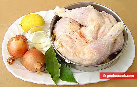 Cosce di pollo alla brace