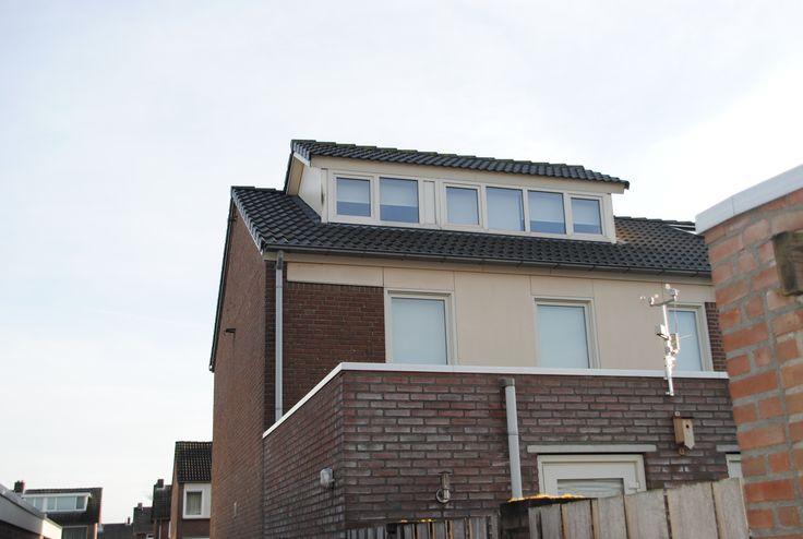 Vervangen complete dakconstructie + plaatsing dakopbouw.