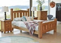 Vida Living York Oak Bed #Oak #Bed This bedroom collection is a robust statement range and will be perfect in master bedrooms while giving a special treat to guests in spare rooms. Constructed from solid weathered oak and finished with bronze handles this range is a guaranteed winner. Dimensions:4ft 6in Double W 149cm x L 223cm x H 135cm 5ft King Size W 163cm x L 231cm x H 135cm 6ft Queen Size W 194cm x L 231cm x H 135cm Material:Solid Oak Finish:Oak